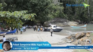 Jaga Perairan Aceh Jaya, Polsek Sampoiniet Miliki Kapal Patroli