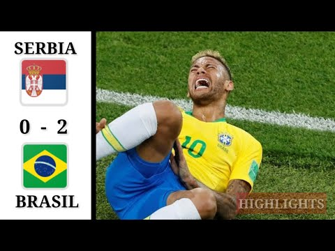 BRASIL VS SERBIA (2 - 0), Brasil juara grup E Piala Dunia 2018