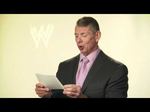 0 Vince McMahon Thanks the WWE Universe