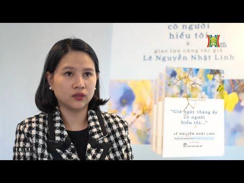Tác giả Lê Nguyễn Nhật Linh ra mắt sách tản văn giúp bạn đọc chống trầm cảm [HANOITV]