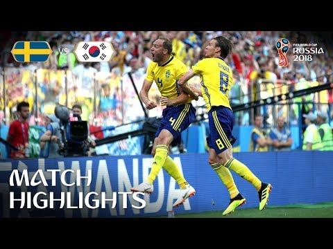 Sweden v Korea Republic - 2018 FIFA World Cup Russia™ - Match 12 (видео)
