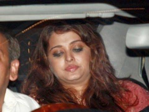 Aishwarya Rai put on five to six kilos.
