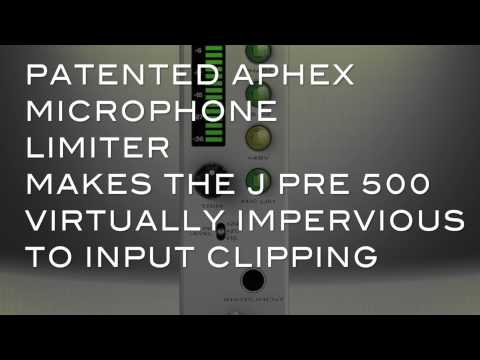 THE NEW APHEX 500 SERIES - J-PRE 500 PREAMP