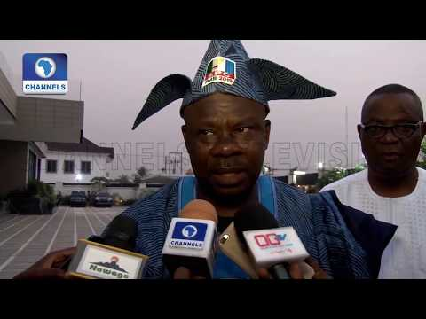 Gov Amosun Reacts To Drama At Apc Rally In Ogun