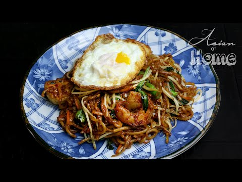 Mie Goreng Indonesian Stir-fried Noodles