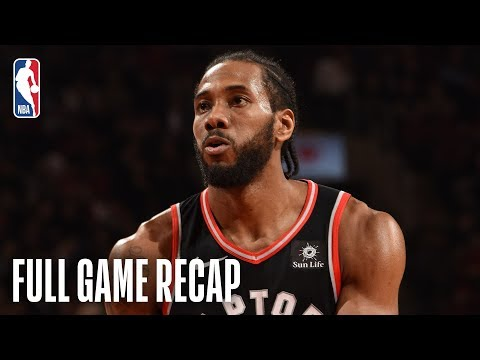 Video: NETS vs RAPTORS | Kawhi Comes Up Clutch For Toronto | February 11, 2019