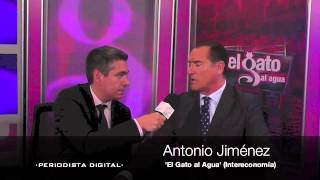 Entrevista con Antonio Jiménez, 'El gato al agua'. 1 octubre 2012