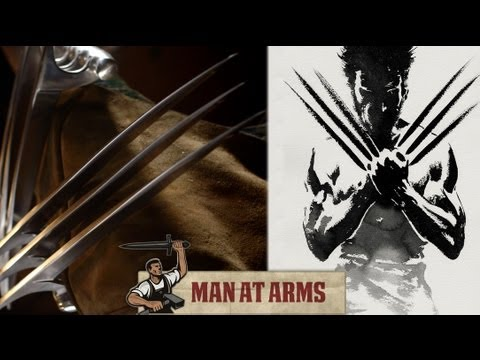Man At Arms Made Insane Wolverine Claws