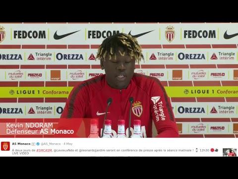 Suivez en direct la conférence de presse avant Caen-AS Monaco