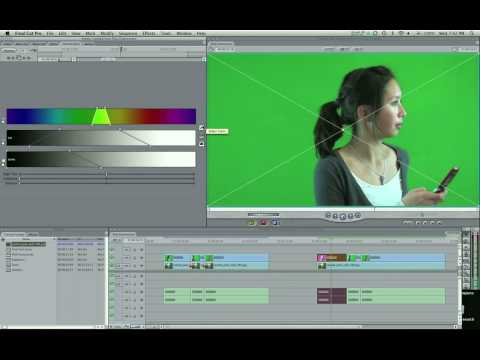 Chroma Key - Part 1: Learn how to Chroma Key in this tutorial. Check out http://www.finalcutking.com/ for more Final Cut Studio tutorials!