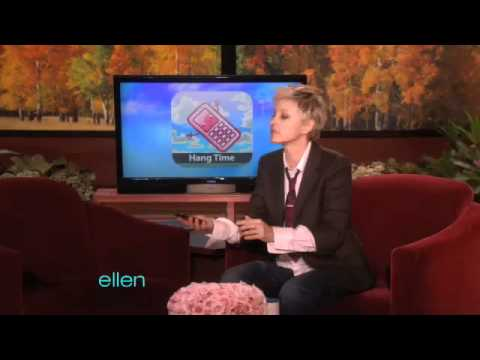 app - Today Ellen featured some of the most pointless iPod apps around. We highly recommend NOT trying these at home!