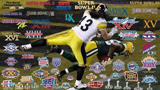 The BEST Play from EVERY Super Bowl (I-LIII) by NFL