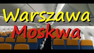Airbus A320 Aeroflot Warsaw-Moscow Economy Class