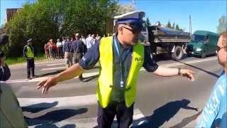 Blokujący Obwodówkę vs. giżycka Policja