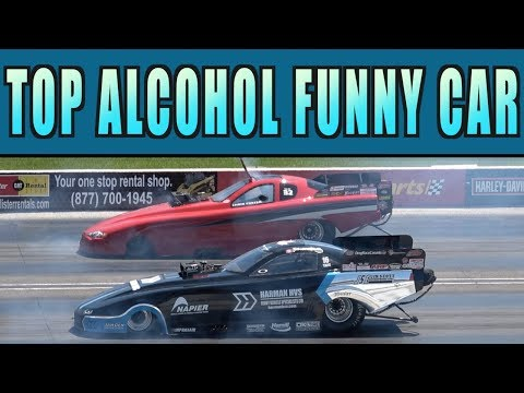 Top Alcohol Funny Car Eliminations 2018 | INDIANAPOLIS