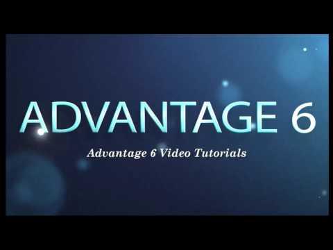 Advantage 6 Trial Setup and first Estimate Demo
