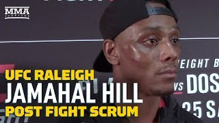 UFC Raleigh: Jamahal Hill Says He's in 'Business of Breaking People' - MMA Fighting by MMA Fighting