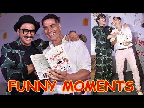 Ranveer Singh And Akshay Kumar's FULL MASTI At Twi