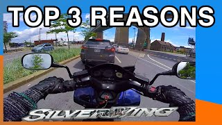 5. TOP 3 REASONS Touring Scooter HONDA SILVERWING IS 6.5/10 S2 #47