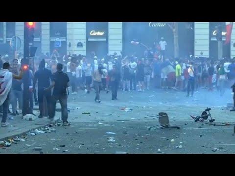 Παρίσι: Επεισόδια μετά τους πανηγυρισμούς
