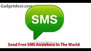 Here is the detailed description of this video http://gadgetdose.com/send-free-sms-to-mobile-here-are-th....