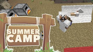 Minecraft | SUMMER CAMP! - WE FINALLY DID IT! [8]