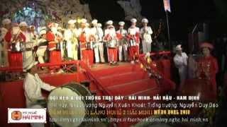 03a- Trống - Kèn Khai Mạc ĐÊM NHẠC HỘI LÀNG NGHỀ 2 HẢI MINH MỪNG NOEL 2013