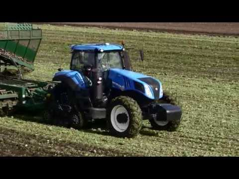 New Holland GENESIS® T8 SmartTrax™