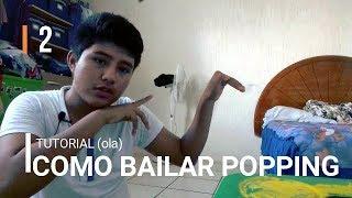 COMO BAILAR POPING, FREESTYLE DANCE, Dubstep Dance   TUTORIAL (OLA) #1 En español