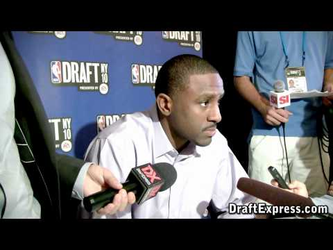 Patrick Patterson - 2010 NBA Draft Media Day - DraftExpress