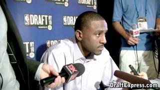 Patrick Patterson - 2010 NBA Draft Media Day - DraftExpress