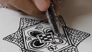 3 ● Patterns For Doodling/ Doodling For Beginners / Doodling Tutorial.