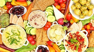 Easy & Impressive Vegan Platter | Holiday Entertaining by The Domestic Geek