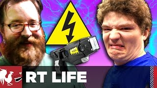 RT Life - Michael Gets Tased [Warning: Graphic]