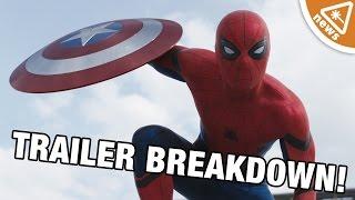 Captain America Civil War Trailer 2 Breakdown! (Nerdist News w/ Kyle Hill)