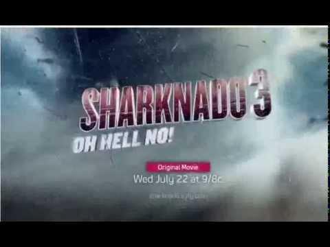 Sharknado 3 Oh Hell No! Trailer