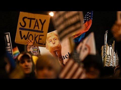 Διαδηλώσεις κατά του Ντόναλντ Τραμπ σε Ουάσινγκτον και Νέα Υόρκη