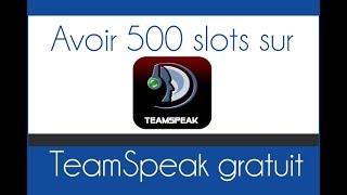 ► Aujourd'hui, GeekHighTech vous montre comment avoir 500 Slots sur teamspeak gratuitement, abonnez-vous à lui :)▬▬▬▬▬▬▬▬▬▬▬▬▬▬▬▬▬▬▬▬▬▬▬▬▬▬▬▬▬► A PROPOS DE LA VIDEO :- Vidéo original : https://www.youtube.com/watch?v=Qs9qB5F-aqo- Chaîne de l'auteur : https://www.youtube.com/channel/UCa1BIsWi0WqjO2YW5H9okCQ- Lien : http://speakheberg.fr/▬▬▬▬▬▬▬▬▬▬▬▬▬▬▬▬▬▬▬▬▬▬▬▬▬▬▬▬▬Envie du logiciel Action Mirrilis pour filmer ton écran Windows ? à -80% https://goo.gl/ejmmx4▬▬▬▬▬▬▬▬▬▬▬▬▬▬▬▬▬▬▬▬▬▬▬▬▬▬▬▬▬                        A PROPOS DE TUTO WATCH TVTUTO WATCH TV est une chaine communautaire de tutoriels, où seuls les vidéos tutos en informatiques sont acceptés, il y a un upload tout les deux jours, pour satisfaires tout le monde :)Créé en 2014 par Captain VPour envoyer ta vidéo tuto c'est sur ce lien unique : http://www.captainv.fr/TWTV/+ de 200 autres astuces à découvrir : http://captainv.fr▬▬▬▬▬▬▬▬▬▬▬▬▬▬▬▬▬▬▬▬▬▬▬▬▬▬▬▬▬Gagner 50 euros par mois : https://goo.gl/bMxv1F