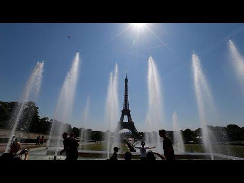 Παρίσι: Οι άστεγοι σε συνθήκες καύσωνα