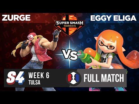 Zurge vs Eggy Eliga - Tulsa - Week 6 Grand Finals - Super Smash Thursdays
