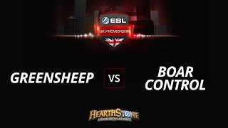 greensheep vs BoarControl, game 1