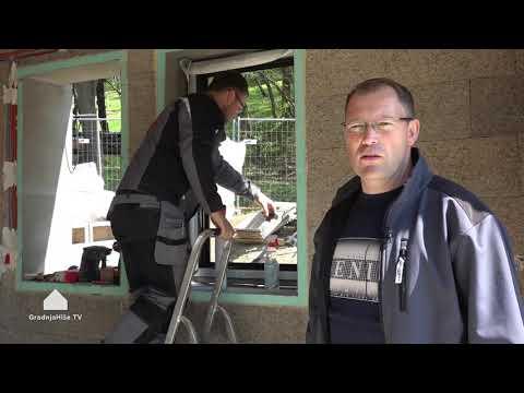 RAL montaža oken in vrat   Gradnja Hiše TV