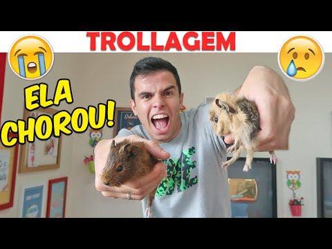 TROLLEI MINHA NAMORADA - RATO DE VERDADE! -  KIDS FUN!