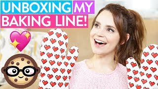 Download Youtube: UNBOXING MY BAKING LINE!