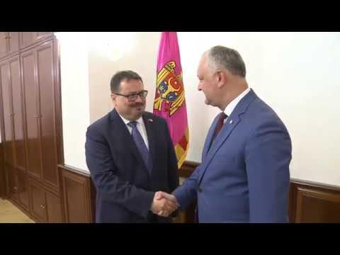 Igor Dodon a avut o întrevedere cu Peter Michalko