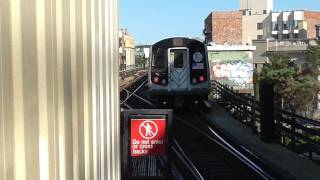 Here's a Queens-bound R143 Z train in action at Myrtle Avenue-BroadwayFOLLOW ME: Google: http://plus.google.com/+BwayLineEntTwitter: http://twitter.com/BwayLine7795Facebook: http://FB.me/BLETransitInstagram: http://Instagram.com/reggakabwaylineThankx for watchin' and stay tuned for the latest uploads