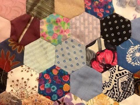 patchwork - motivo esagonale in versione base