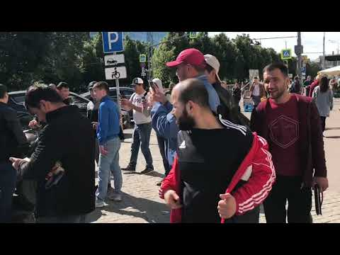 Ураза Байрам в Москве | 15.06.2018 | Россия | Ислам | рамадан - DomaVideo.Ru