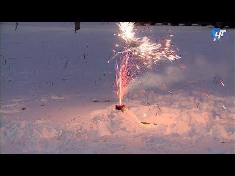 Сотрудники МЧС провели мастер-класс по безопасному использованию фейерверков
