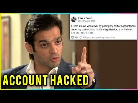 Karan Patel REACTS On His Twitter Account Being HA